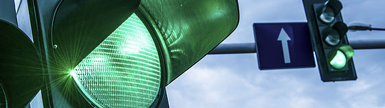 Grünes Ampellicht